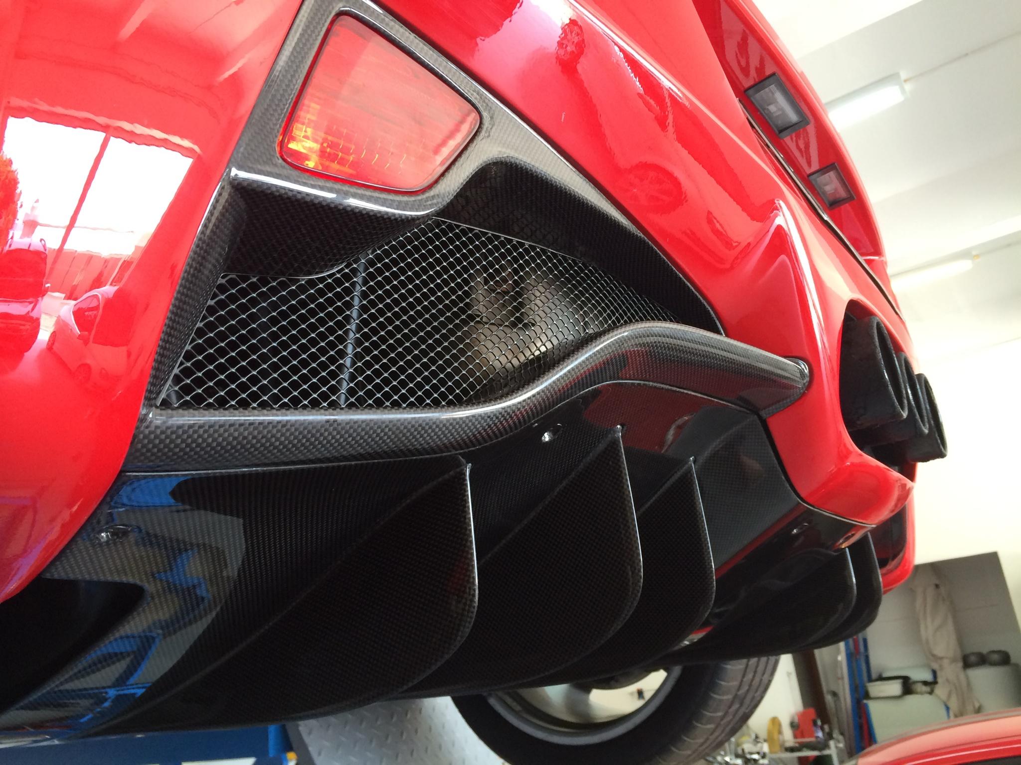 Rear Fog Light Trim Exotic Car Gear Inc