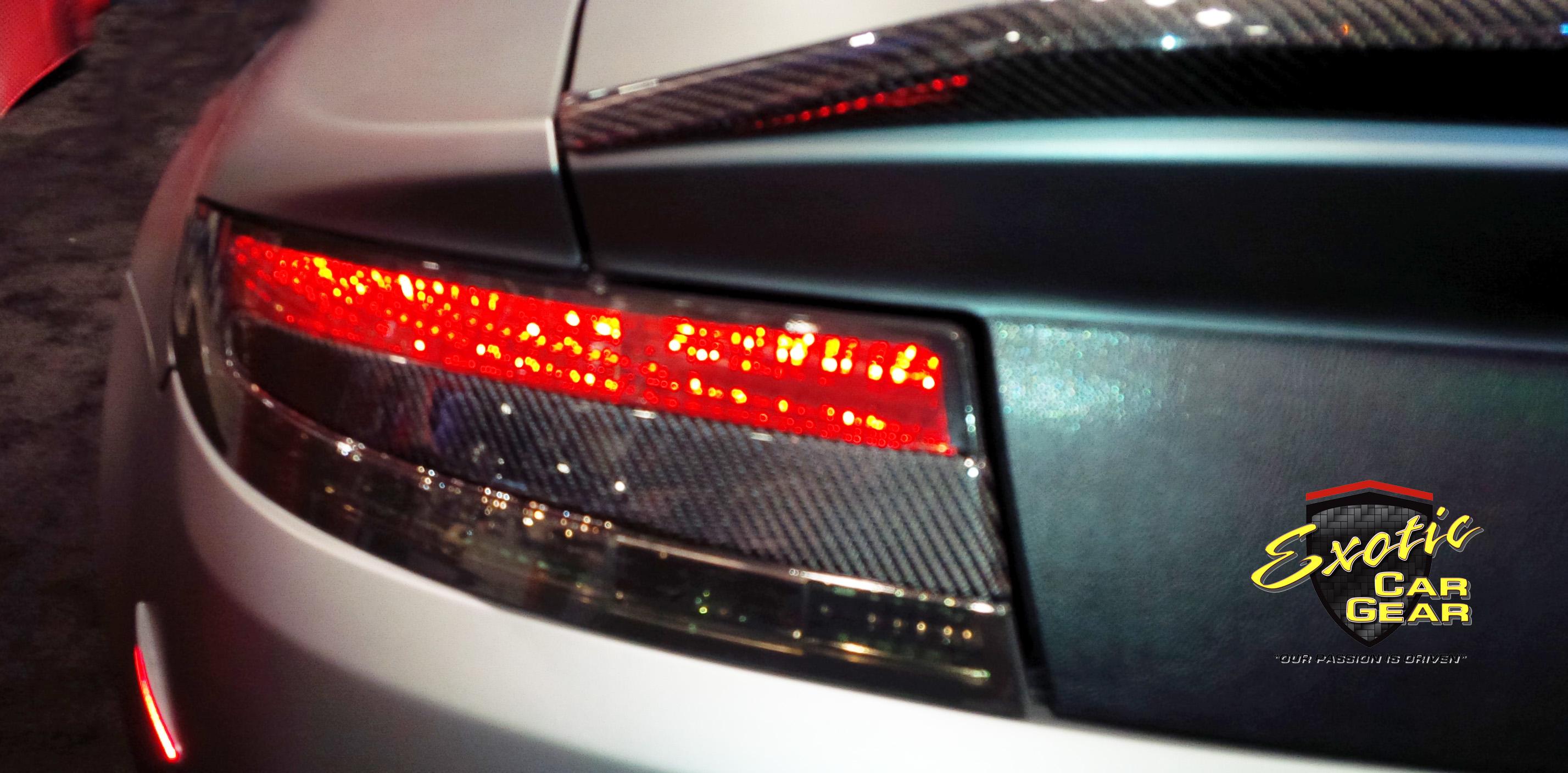 Rear Taillight Inserts Exotic Car Gear Inc