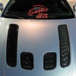 Exotic car gear Aston V12 hood vents