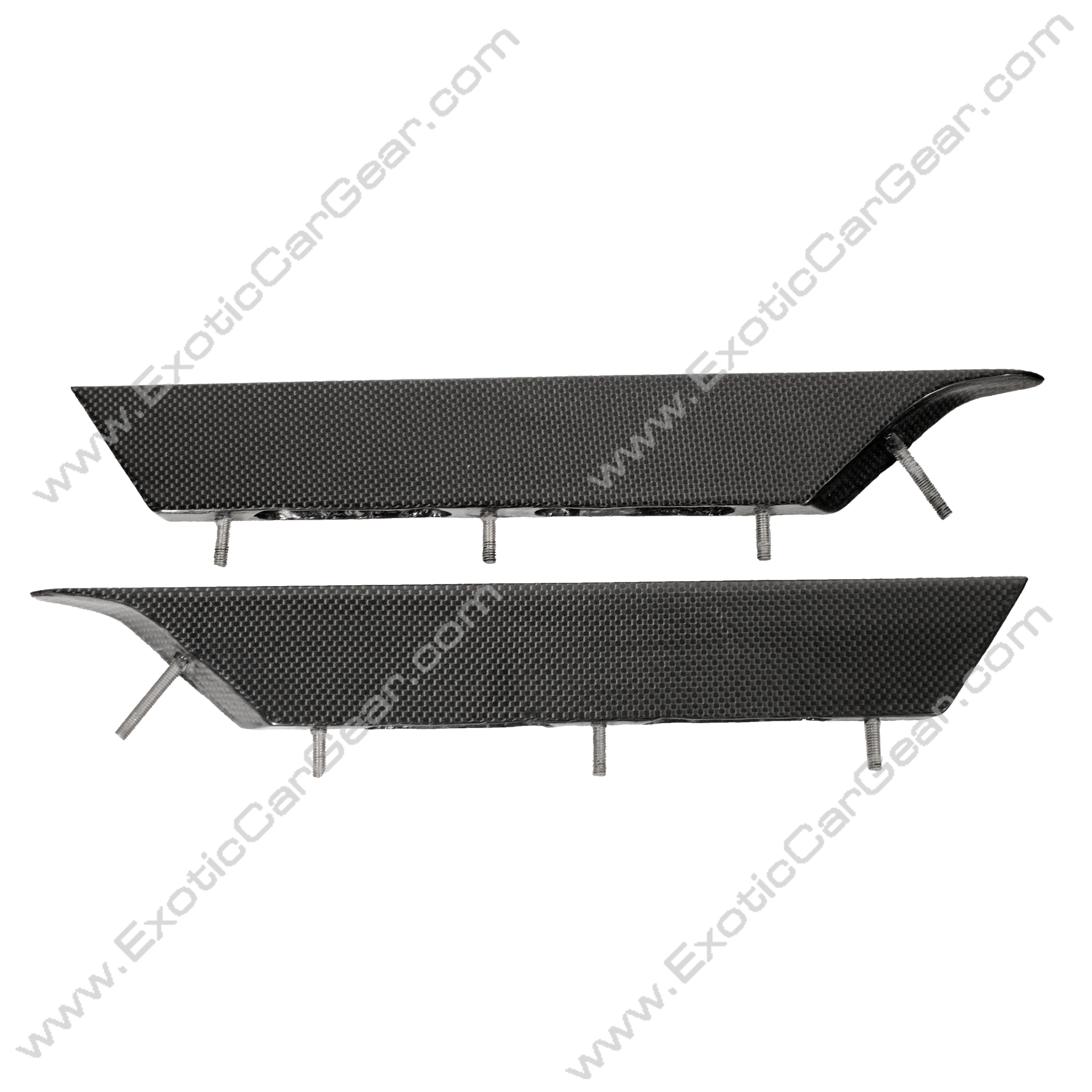 Front Fender Side Strakes/Blades