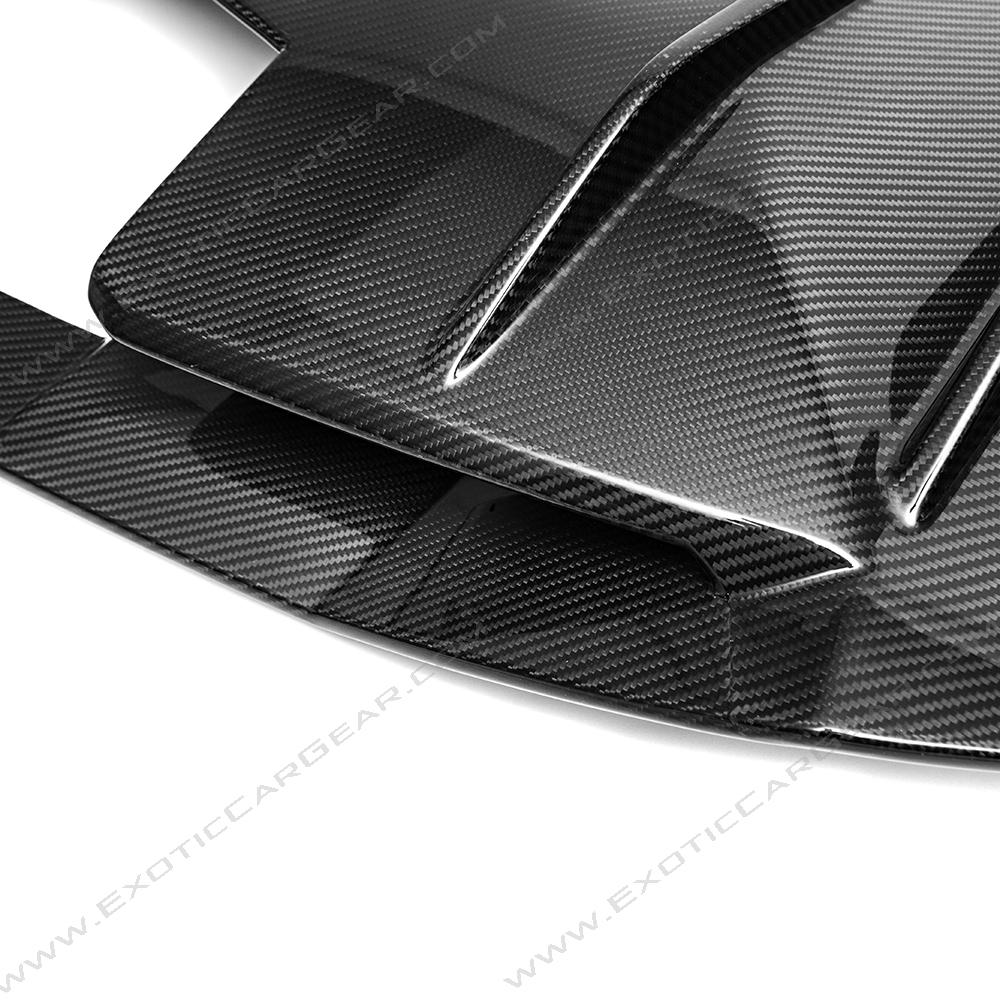 lamborghini aventador carbon fiber rear diffuser exotic. Black Bedroom Furniture Sets. Home Design Ideas