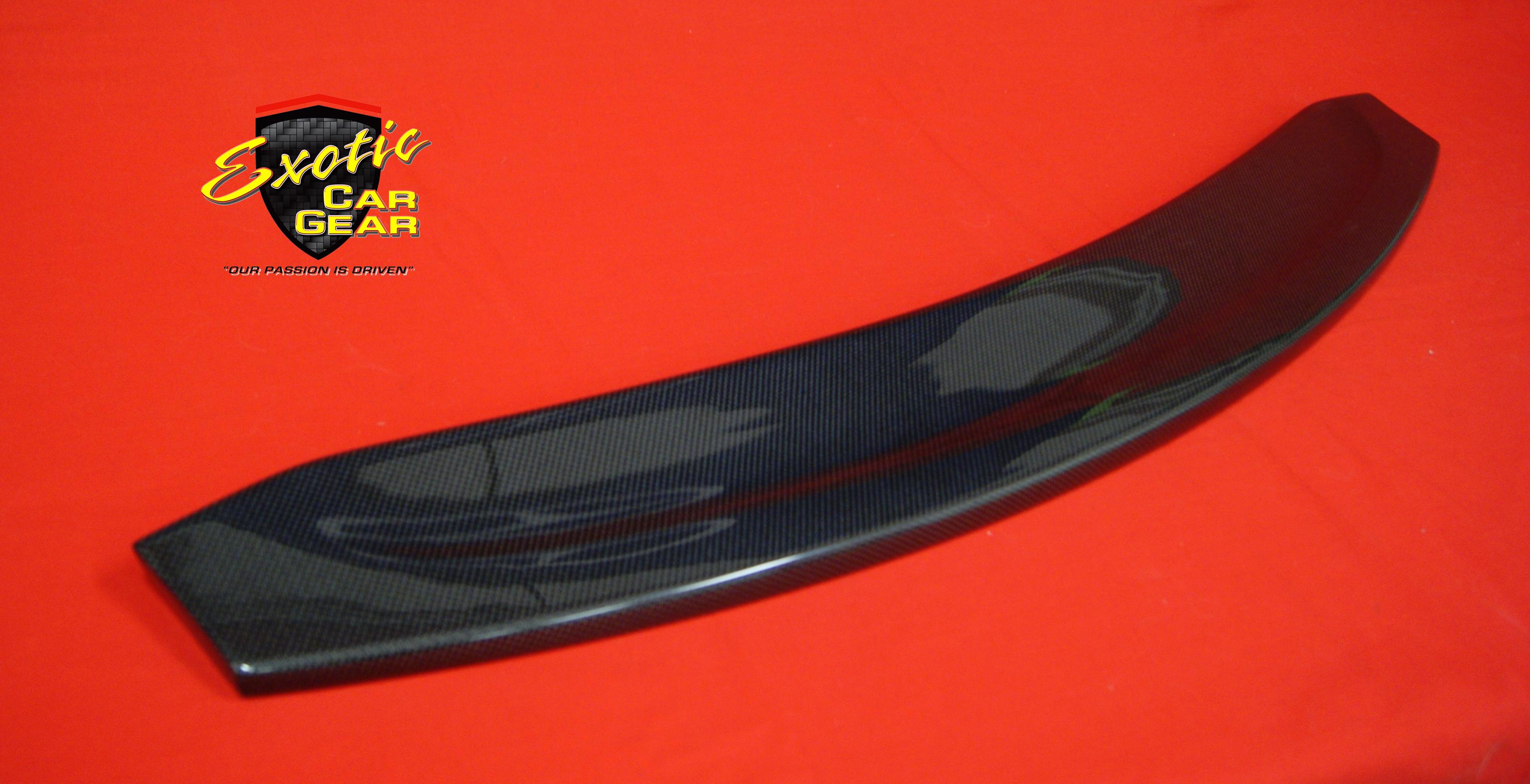Carbon Fiber Rear Spoiler Oem Exotic Car Gear Inc